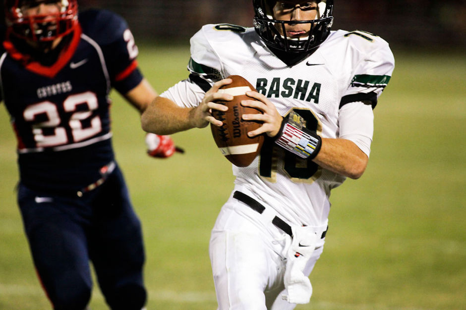 Basha vs. Centennial football