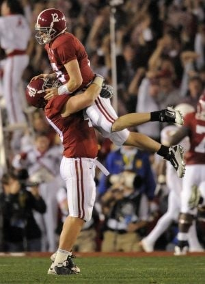 Alabama tops Texas in BCS title game
