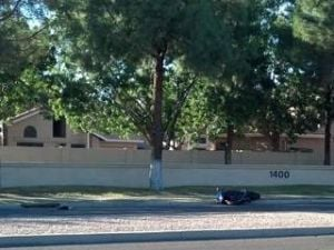 Gilbert motorcyclist dies in accident