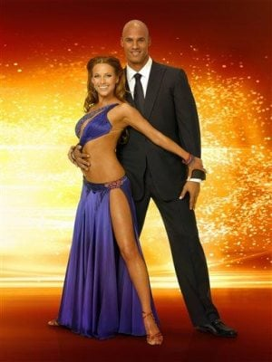 Taylor tackles 'Dancing with Stars'