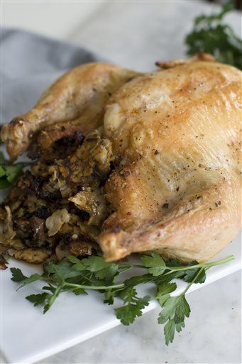 Food Deadline Stuffed Chicken