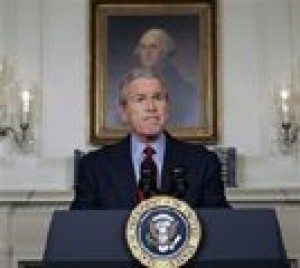 Bush: World leaders united over N. Korea