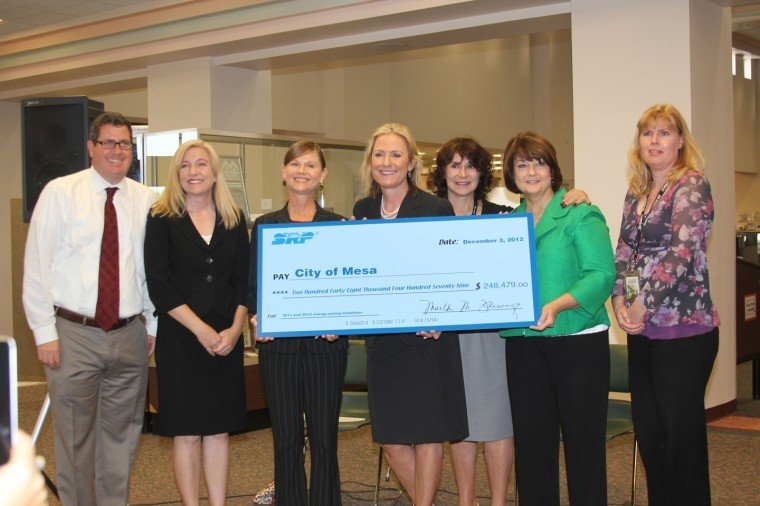 City of Mesa Scores Green from SRP
