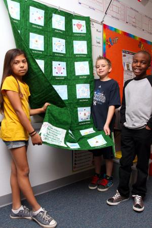 Cortina Elementary School Quilt for Sandy Hook victims