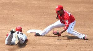 D-Backs swept by streaking Nationals