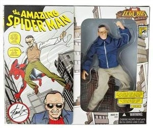 Stan Lee gets his own action figure