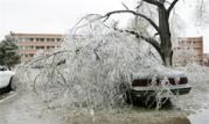 Ice storm causes blackouts, deaths