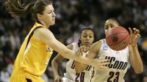 UConn rolls by ASU, into women's Final Four