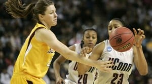 UConn rolls by ASU, into women's Final Four