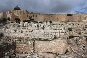 In ancient wall, scholar sees proof for Bible