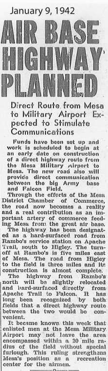 Airbase news clipping