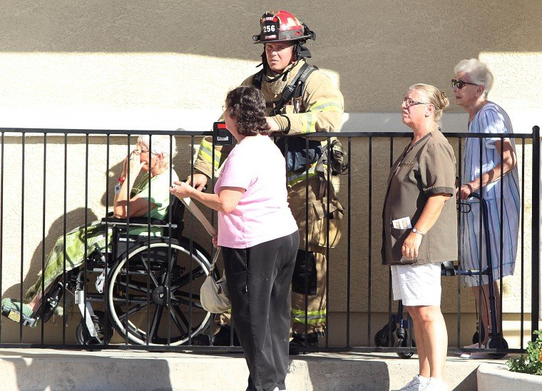 Mesa nursing home fire