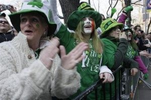 St. Patrick's revelers in US fete all things Irish