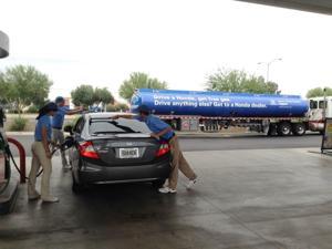 Helpful Honda Guys in Blue