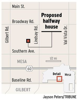 Halfway house plan riles Mesa neighbors