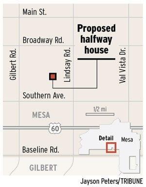 Halfway house plan riles Mesa neighbors