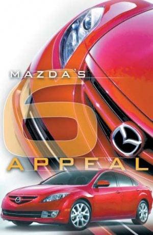 Mazda's 6 Appeal