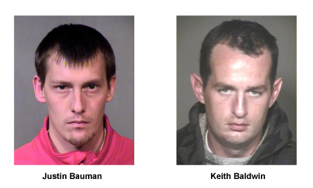 Justin Baldwin, Keith Bauman