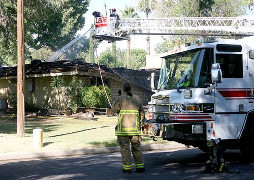 Mesa house fire