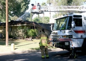 Mesa house fire