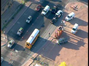 Bus accident in Guadalupe