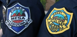 Mesa police changing patches