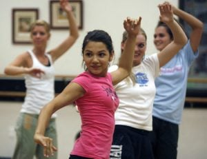 Zumba classes add a Latin groove to working out