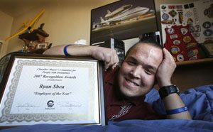 Disability no drawback for student