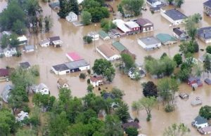 Flash floods inundate Wis. town for 2nd time