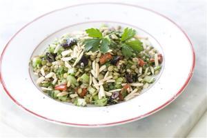 Food Healthy Lentil Tabbouleh