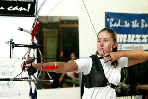 Bullseye! Archer sets sights on Olympics