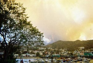 Scottsdale kids escape California fire unscathed
