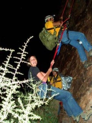 Climber clung for life before 80-foot fall 