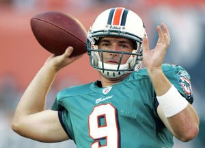 Mesa's Beck to start for Miami Dolphins