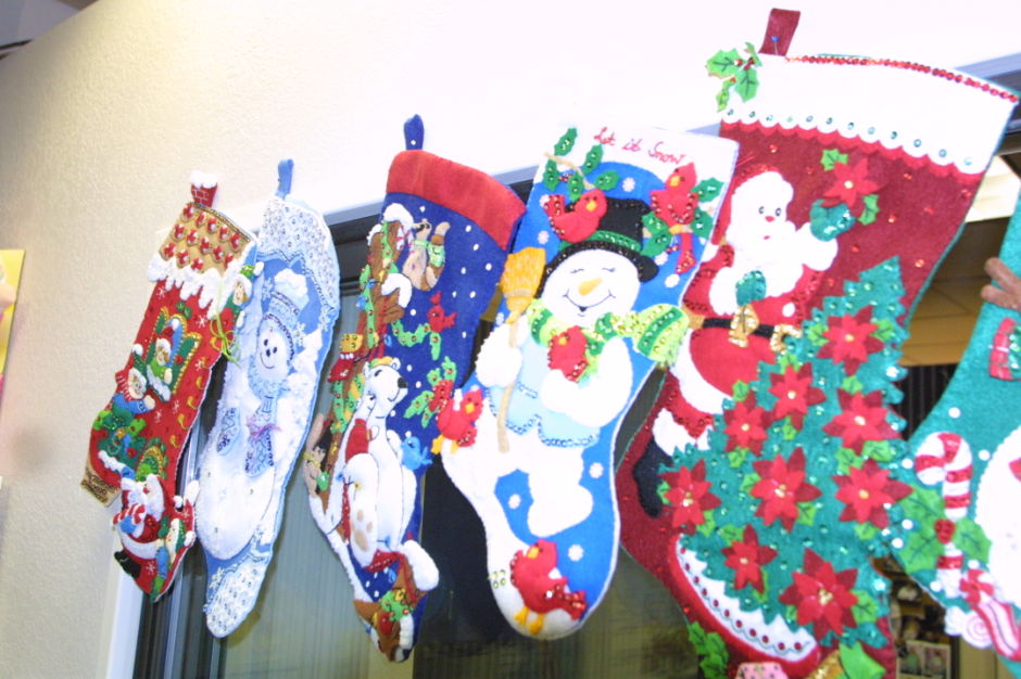 Stocking donation