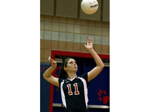 Centennial Volleyball passes early test