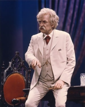Hal Holbrook in Mark Twain Tonight