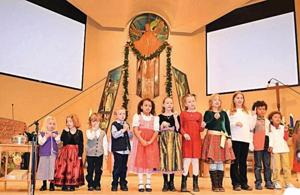 German Christmas service at Mountain View Lutheran Church