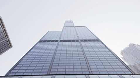 Chicago's iconic Sears Tower now Willis Tower