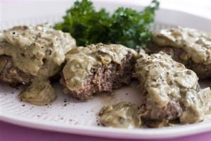 Food Healthy Stroganov Burgers