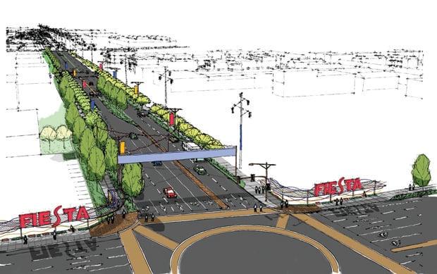 Planned Fiesta District improvements
