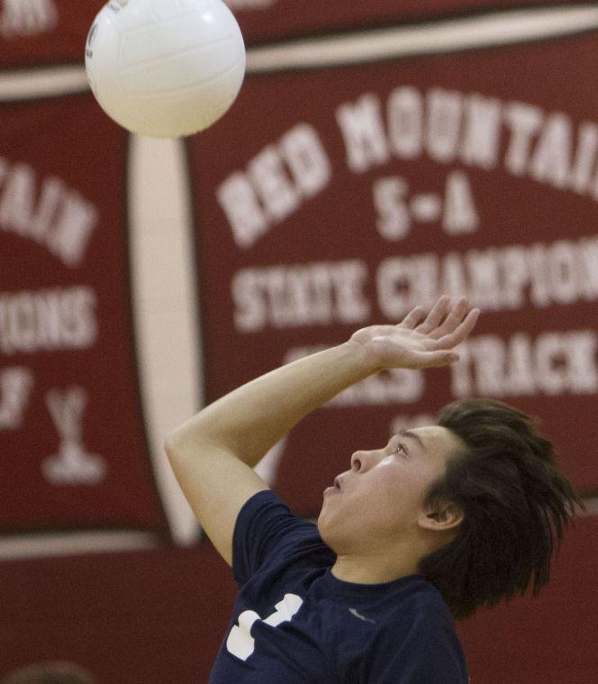 Volleyball: Red Mountain vs Desert Vista