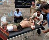 Blasts kill 5 in Baghdad market, bakery