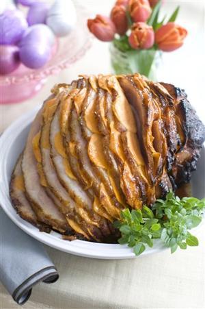 Food Easter Stuffed Ham