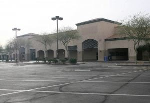 E.V. shopping centers desperately seeking tenants
