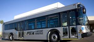 New shuttle connects airport to light rail