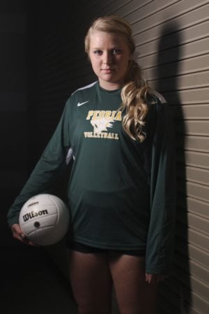 UNITED NATIONS: Peoria volleyball star, seniors put program on map