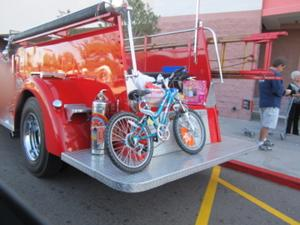 Firefighters' toy drive