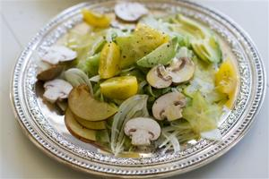 Food American Table Celery Salad
