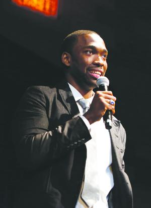 <p>Jay Pharoah performs during the Fostering A Legacy Benefit on Friday, Sept. 12, 2014 in New York City. (Photo by Amy Sussman/ AP Images for The Compound Foundation)</p>